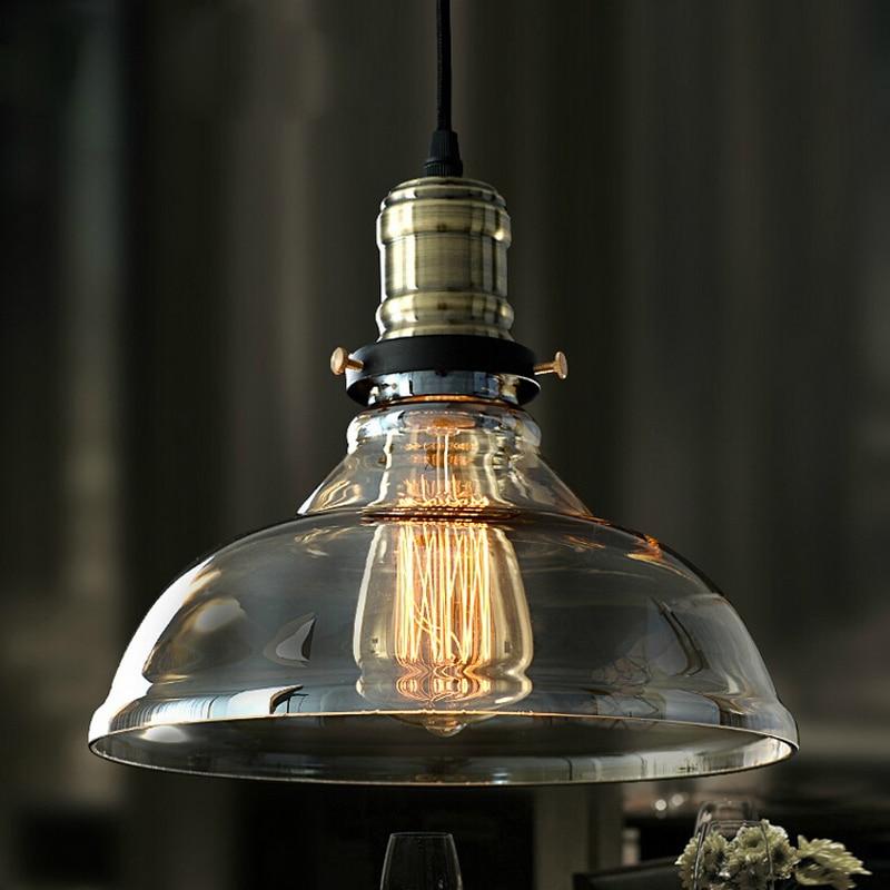 Cognac glass E27 Pendant Lights Glass Lamp Luminaire Pendant Lamp Glass Lampshade Hang lamp Light For Aisle Bar Restaurant bar single glass pendant lamp gray blue amber glass lampshade e27 led pendant lights bar cafe salon indoor lighting fixture
