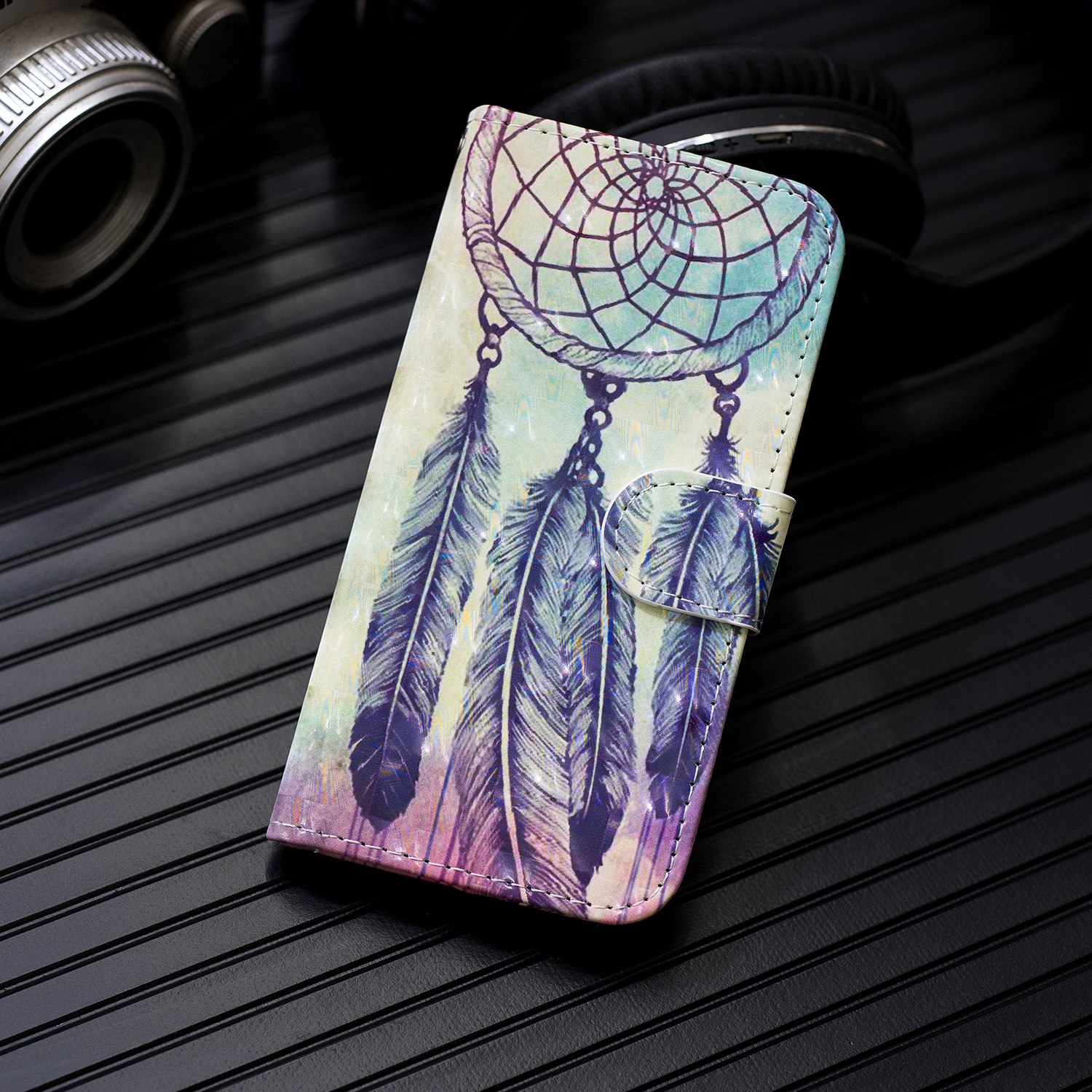 5.1 2018 Cover Leather Phone Case For Nokia 5.1 Plus Cases Card Slot Magnetic Painted Flip Wallet PU Coque For Nokia 5.1 2018