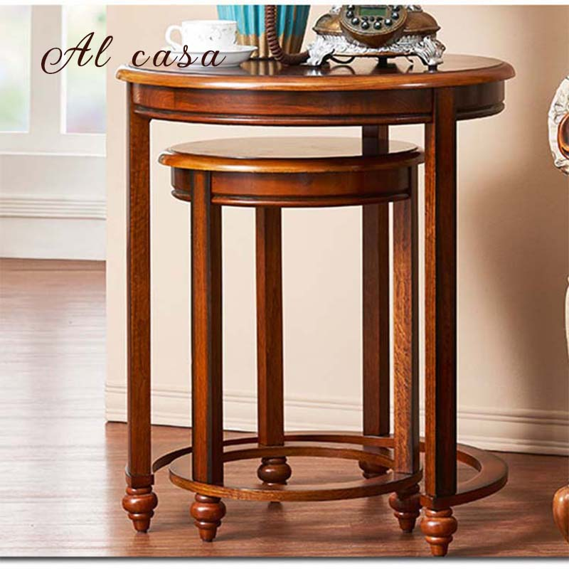 Fantastic Us 189 0 Coffee Table Big And Small Size Set Solid Wood Tea Desk In Traditional Classic Style End Console Table In Coffee Tables From Furniture On Caraccident5 Cool Chair Designs And Ideas Caraccident5Info