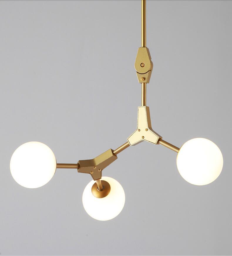 dourado pingente lâmpadas sala estar arte americana