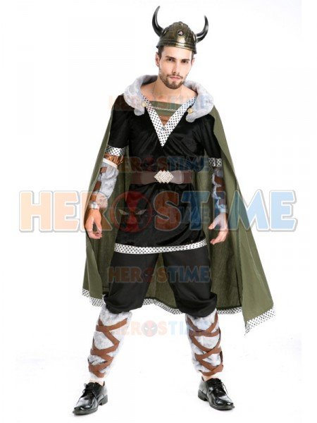 Humor 2017 Vikings Adult Gladiator Male Cosplay Superhero Costume Halloween Fancy Show Costume Customers First