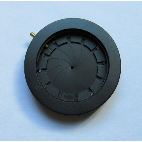 1pc Optical Iris Diaphragm Iris Module 1.5-36mm Adjustable Manual Aperture for Microscope/Camera/Laser optical iris diaphragm 0 3 6mm manual adjustable aperture condenser for laser camera microscope
