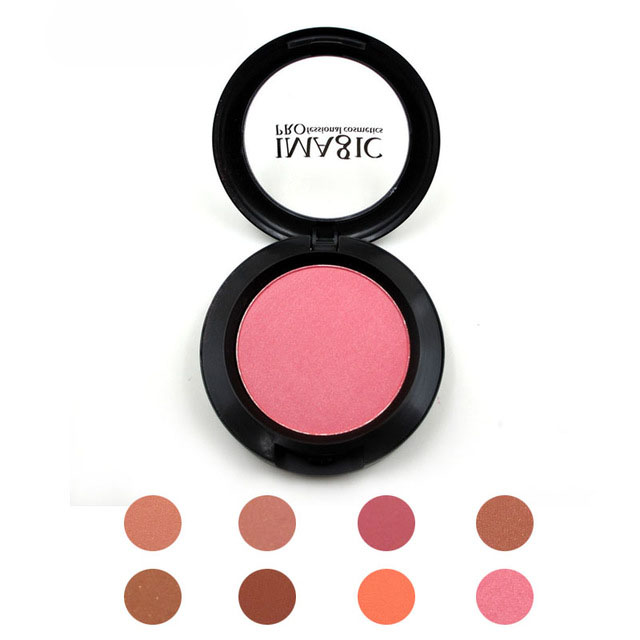 Makeup Cheek Blush Powder 8 olika färgpressade Foundation Face Makeup Blusher Powder