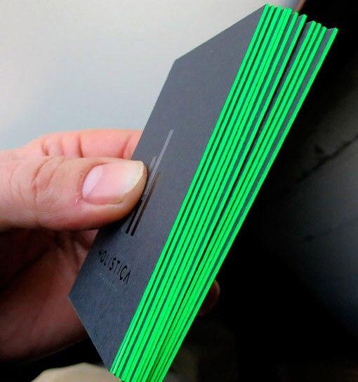 Custom edge color letterpress printing business cards spot uv print custom edge color letterpress printing business cards spot uv print 600gsm black cardboard paper name card reheart Choice Image