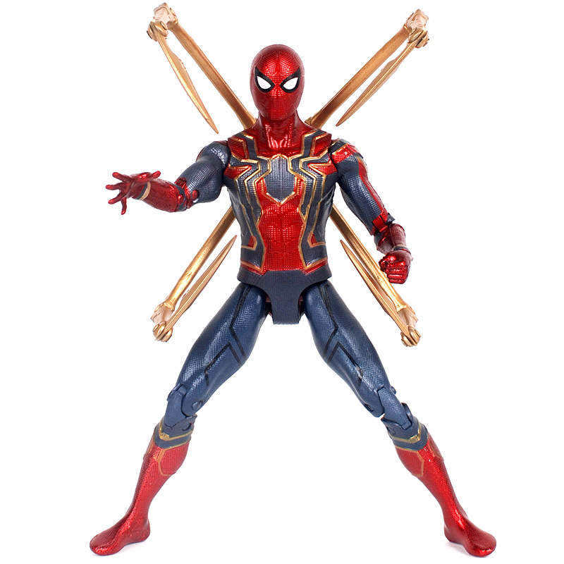 Avengers 3 Infinity War Iron Spiderman 18CM Spider-Man Action Figure Toy Gifts