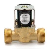 New 3 4 NPSM N C Solenoid Valve 12V DC VDC Slim Brass Electric Diaphragm Solenoid