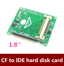 5pcs/lot  Free shipping  CF to 1.8 Inch IDE hard disk card ,CF to 1.8 Inch IDE SSD adapter supports 2.5