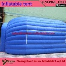 7x4mwhite и щепка ткань оксфорд надувной шатер этапа, надувные партийные палатки для событий + бесплатная доставка