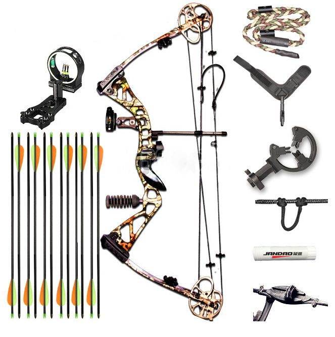 2015 New Design Archery Supplies Hunting Shooting Compound Bow and Arrow Set Aluminium Alloy Riser CNC Alloy Cams  SLD-HWXLT fish slingshot with the fishing wheel and laser flashlight stainless steel aluminium alloy archery shooting hunting equipment