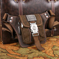 Hot mini retro fashion purse leisure bag soft leather belt leisure and tourism phone pockets pockets