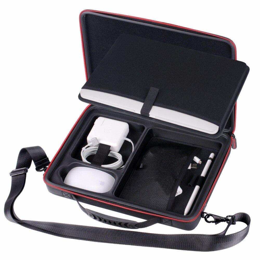 Smatree Жесткий сумка чехол для Apple Macbook Air 13,3 дюймов, Macbook Pro 13 дюймов, 12 дюймов с плечевым ремнем
