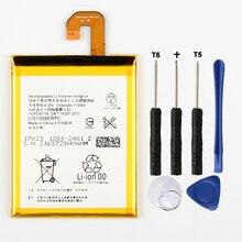 Original High Capacity Phone Battery For Sony Xperia Z3 L55T D5833 D6616 D6708 L55U D6653 D6603 D6633 D5803 3100mAh