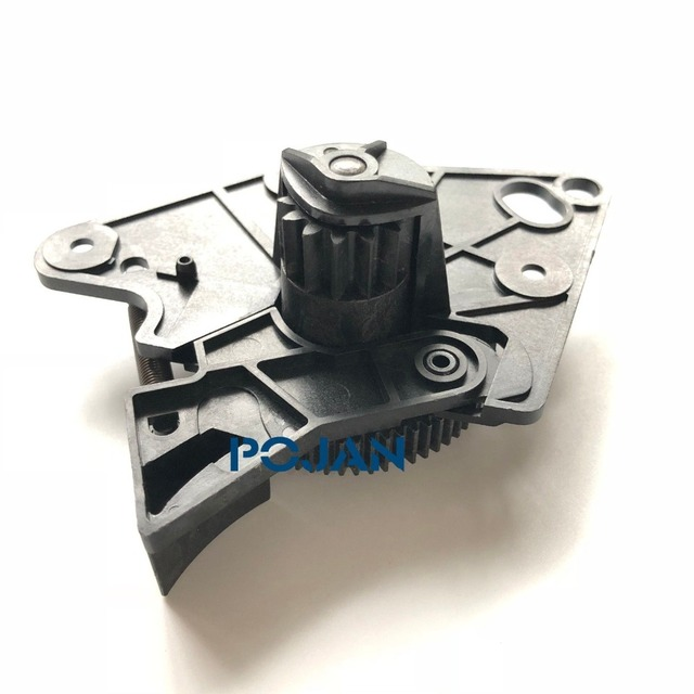 CQ105 67001 Rewinder Gear Assembly For Designjet T7100 T7200 PS NEW POJAN GEAR Free Shipping