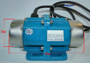 AC380V 100W 50HZ 2900rpm 0-80KG vibration motor vibrator / screening machine / mechanical equipment accessories