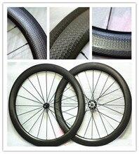 20% Off Spezielle Brems Oberfläche Grübchen Aerodynamische Carbon Räder 2 Jahr Garantie 58mm Tubeless Rennrad Carbon Rad