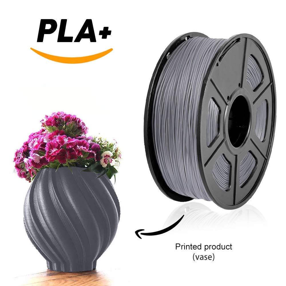 new 2019 sunlu best filament PLA plus 1 75mm 1KG roll refills raw material plastic rods