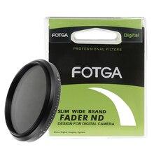 Densidade neutra variável ajustável nd2 do filtro magro do nd de fotga 67mm 67 fader a nd400