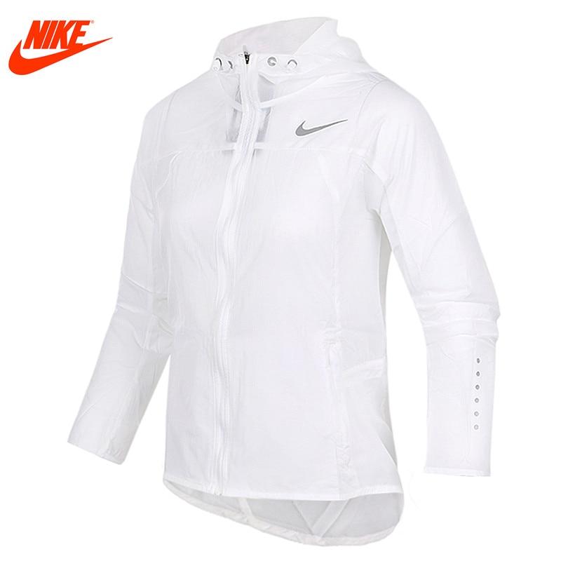 Original Nike women's sun-proof clothing for sports White 831547-101 nike nike fuelband sports bracelet battery cover green m