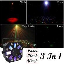 Sprzedaż 2019 Hot 8X1W biały kolor + 8X3W RGBWA LED efekt sceniczny światła USA Luminums profesjonalne DJ Disco pokazuje sprzęt