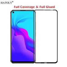Huawei Nova 5i Glass Tempered for Film Full Glue Cover Phone Screen Protector