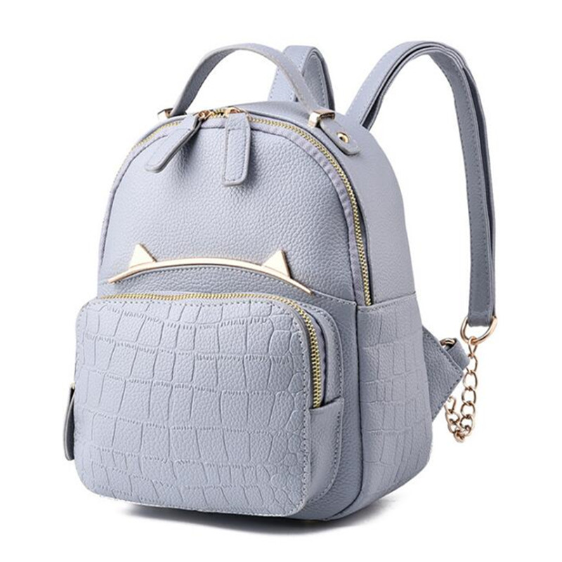 Fashion Women Backpack High Quality PU Leather Mochila Escolar cute School Bags For Teenagers Girls Top-handle Backpacks Bolsas womens fashion cute girls sequins backpack paillette leisure school bookbags leather backpack ladies school bags for teenagers