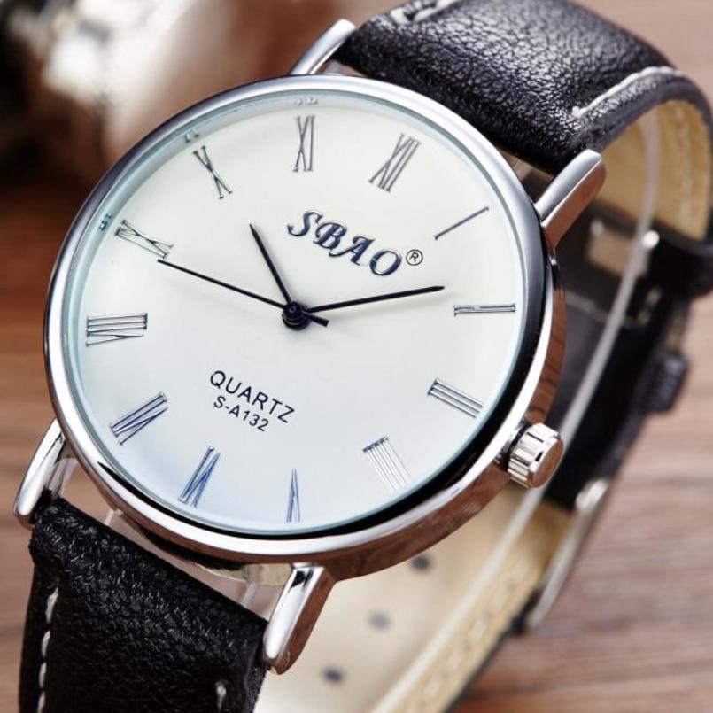 Excellent Quality Quartz Watches Men Luxury Brand Wristwatch Male Clock Wrist Watch Business Quartz Watch Relogio Masculino