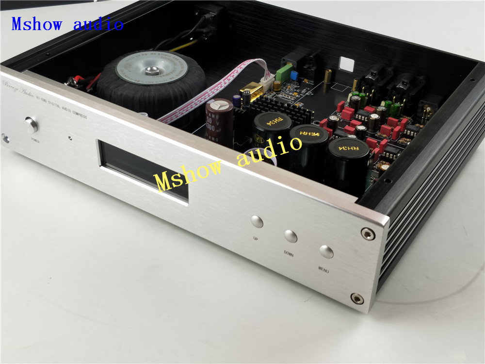 ES9038 ES9038PRO HIFI audio DAC decoder + TCXO +high quality Toridal Transformers + option XMOS XU208 & Amanero USB free shpping es9038pro es9038 9038 decoder dac chip 1pcs 100% original authentic free shipping