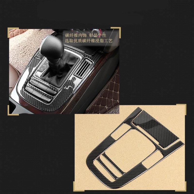 Véritable autocollant en fibre de carbone pour audi A4L A5 Q5 accessoires de voiture super qualité