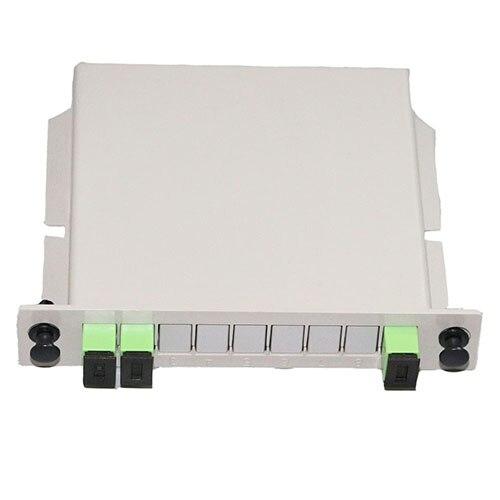 1 Piece1 Zu 2 Einsetzen Sc Upc/sc Apc Faser Splitter 1x2 Sm Single Mode Für Faser Optische Zopf Ftth, Verteilung Box