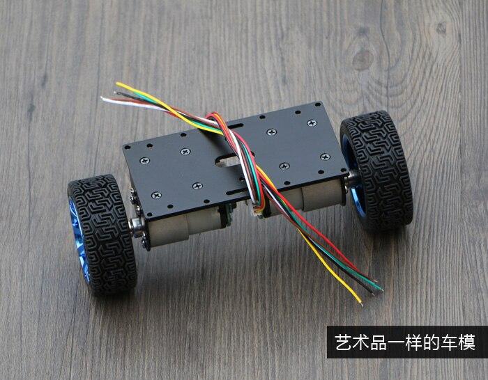 Self-balancing robot car 2WD Chassis Kit large motor balanced car chassis