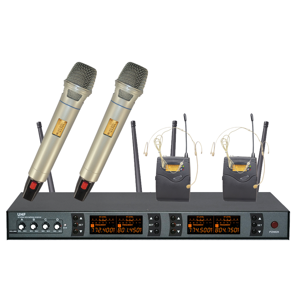 hot selling wireless mic professional wireless microphone system 839 high quality wireless. Black Bedroom Furniture Sets. Home Design Ideas