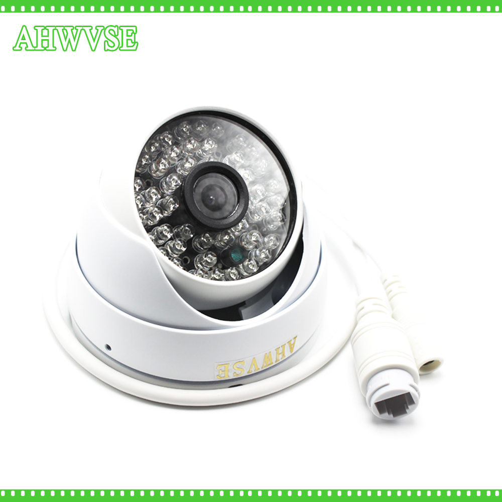 AHWVSE D636 2MP IP Camera 1080P Full HD camera IP outdoor p2p Metal IR Dome Night Vision Waterproof CCTV Camera IR-CUT,ONVIF 2.4