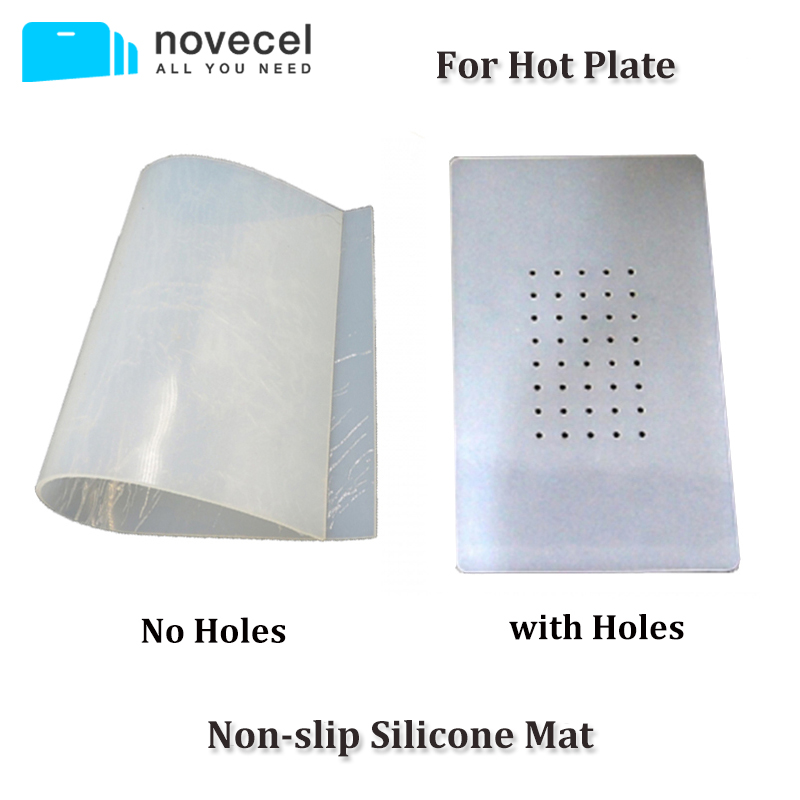 Novecel LCD Screen Separator Machine non-slip Silicone Mat For Manual Vacuum Separator Machine