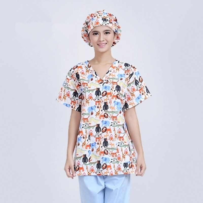 Operating Room Women Short - Sleeved Hand-washing Clothes Cotton High - Temperature Sterilization Separation Clothes Rinse
