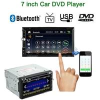 F6060B Steering Wheel Control 2 Din Car DVD Player 7 Inch Touch Screen Multimedia Car Autoradio