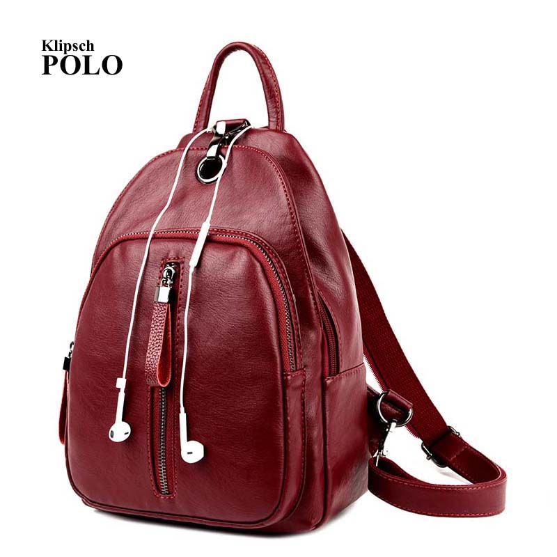 Casual Backpack Women Genuine Leather Backpack For Girls School Bags Mochila High Quality Leather Travel Shoulder Bag Female brand bag backpack female genuine leather travel bag women shoulder daypacks hgih quality casual school bags for girl backpacks