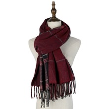 men scarf jacquard wool cashmere male scarf european reversible tassel woven shawls inverno plaid men scarf warm soft boutique black double sided cashmere wool cashmere fabrics jacquard silk fabric scarf skirt scarf dressmaking materials yards h435