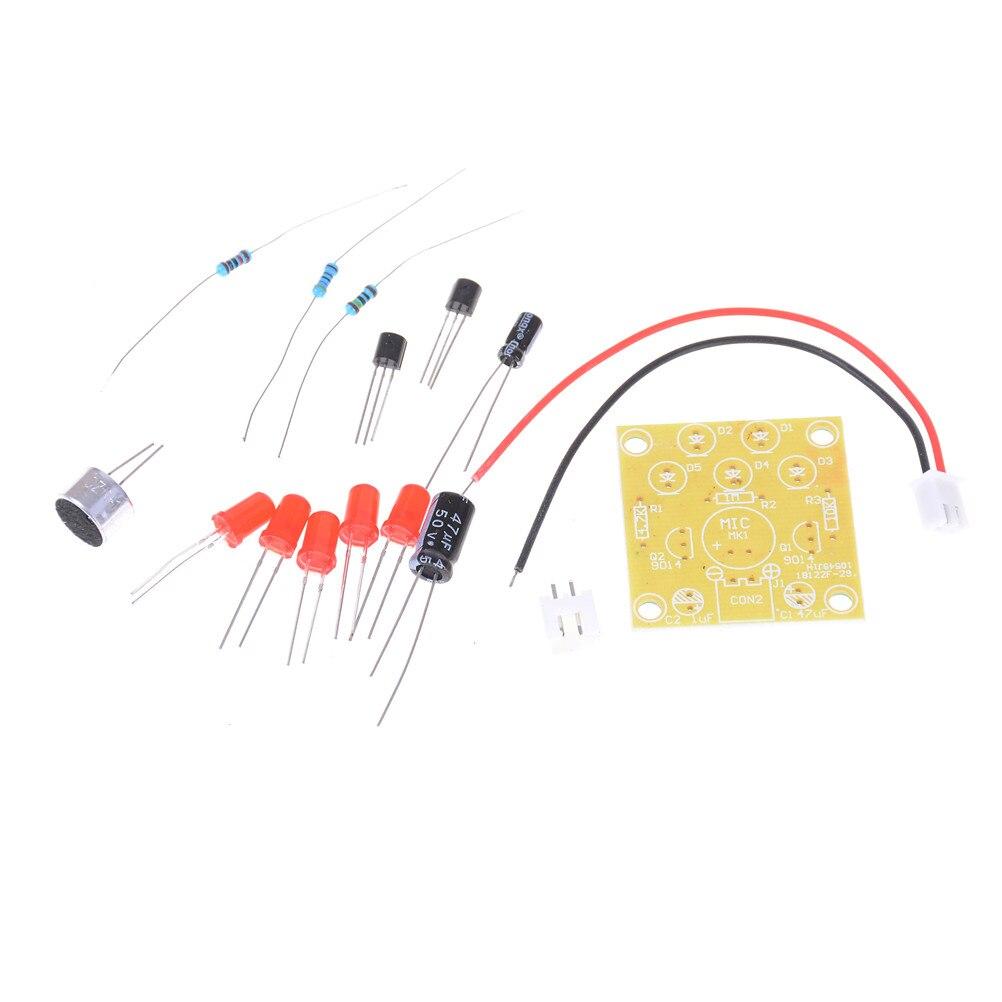 LED Melody Voice Control Light LED Component Parts Design DIY font b Electronic b font Production