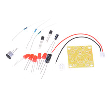 LED Melody Voice Control Light LED Component Parts Design DIY Electronic Production Kit