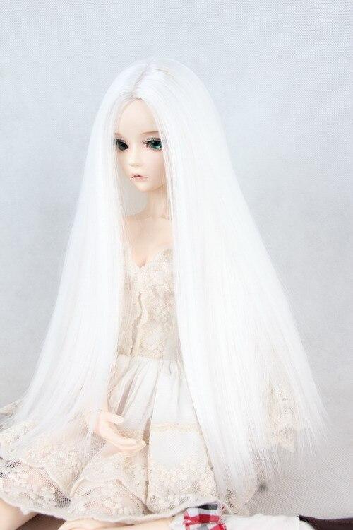 Фото волосы длинные белые
