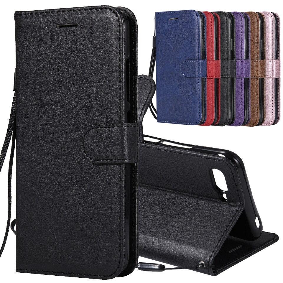 Symbol Der Marke Für Funda Huawei Honor 10 Fall Leder Brieftasche Telefon Fall Für Huawei Ehre 10 Lite Fall Luxus Flip Brieftasche Leder Abdeckung Coque