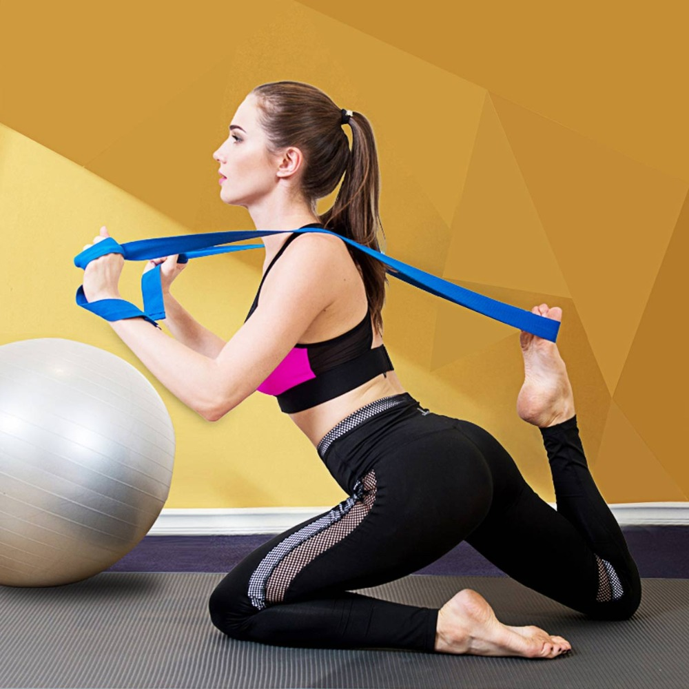 Yoga Stretch Strap, Pilates Fitness Bodybuilding 5