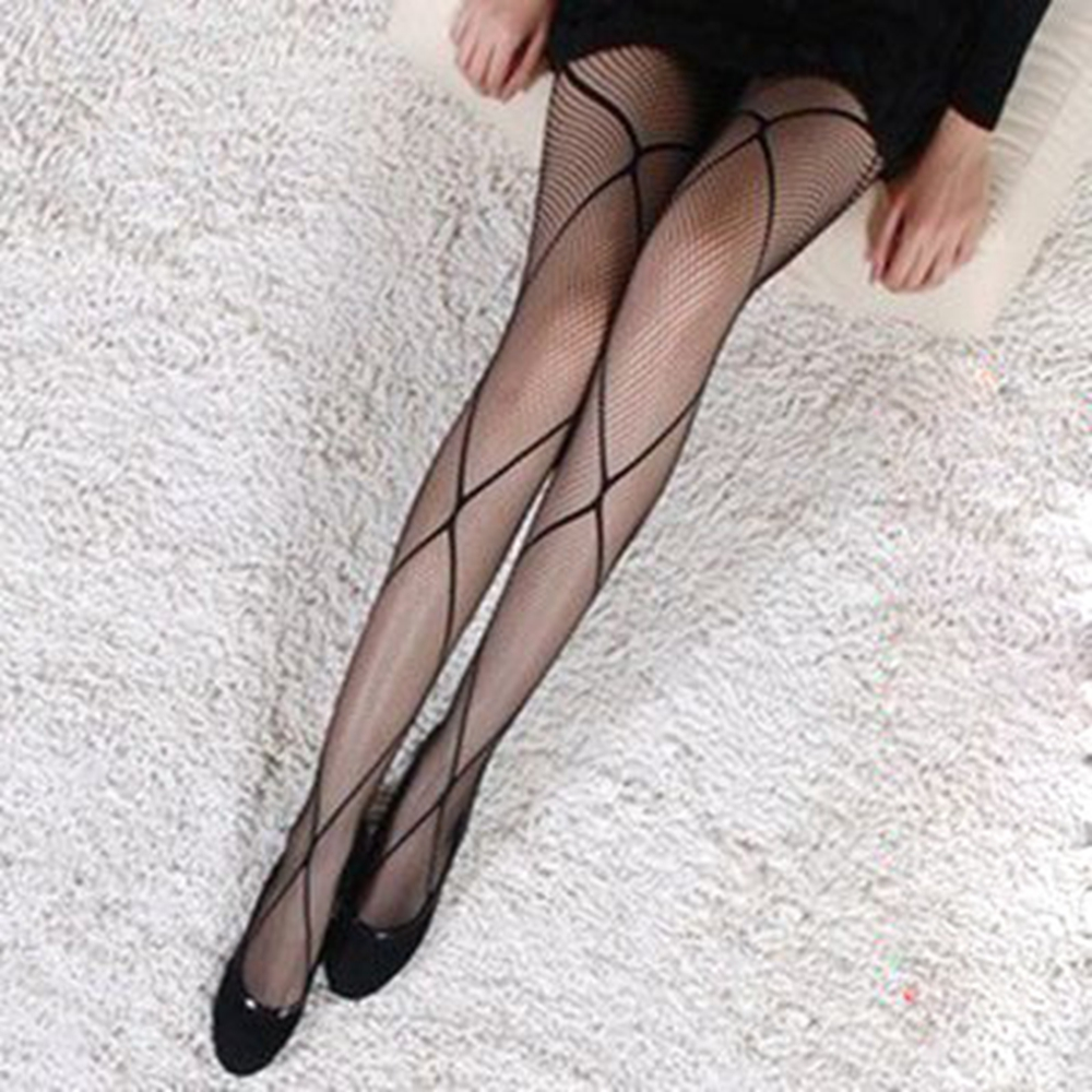 2017 Spring New Listing novel design Sexy Women Fashion Simplicity Abstract Net Fashion Fishnet Tights