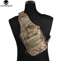 Mejor EMERSONGEAR táctico EDC Cordura bolsa de Deporte Militar Rover Sling Bolsa de pecho para Camping senderismo EM8340