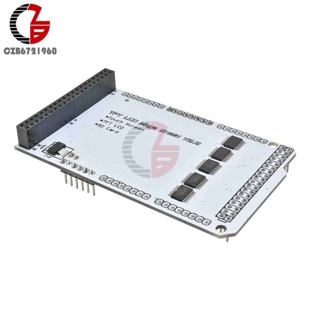 """TFT LCD MEGA Shield V2.2 3.2 """"pouces écran tactile LCD carte d'extension IC pression pour Arduino Compatible avec MEGA 2560"""