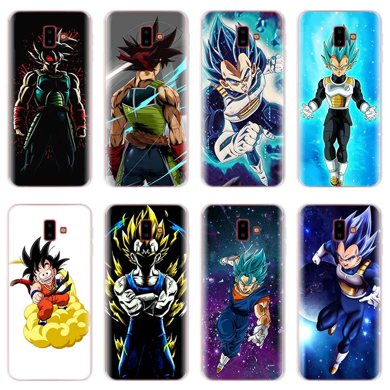 Dragon Ball Custom Photo Tpu Phone Case For Samsung Galaxy J4 J5 J6 Plus J7 J8 2018 J5 J7 Prime Soft Silicone Cases Coque Agreeable To Taste Phone Bags & Cases