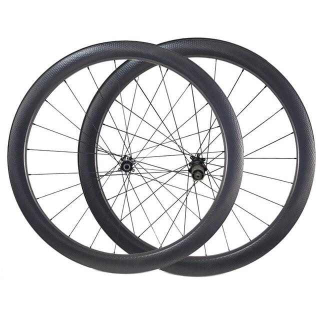 Carbon Dimple Wheels 25mm 45mm Carbon Wheelset Disc Brake Wheels Clincher Tubular 700C Wheelset 791 792 Width 404 Carbon Wheel