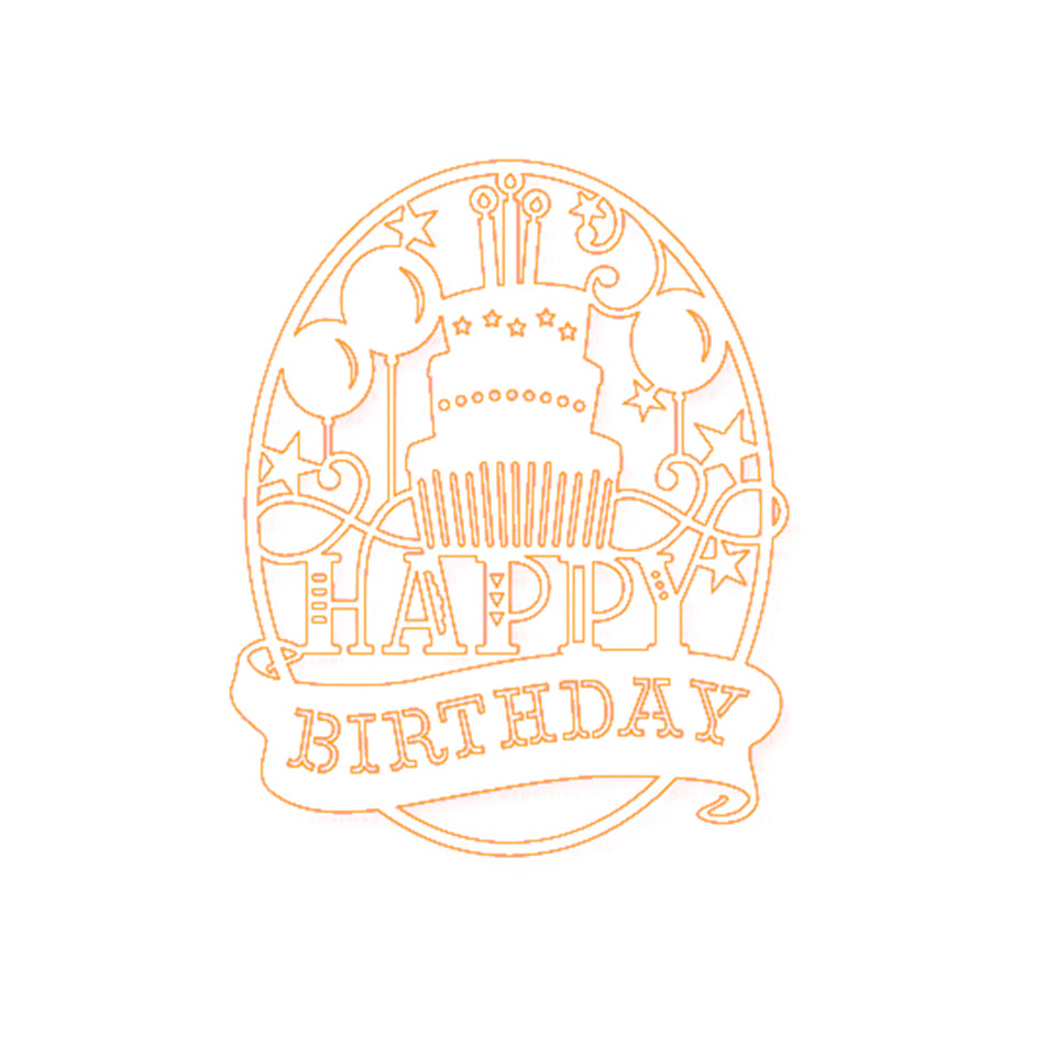 Eastshape Birthday Dies Metal Cutting Dies Stencil for DIY Scrapbooking Album Embossing Paper Cards Decorative Crafts Diecuts in Cutting Dies from Home Garden
