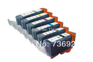 6 inkjet cartidges for canon inks Compatible PGI 220 CLI 221 with Chip of ink For