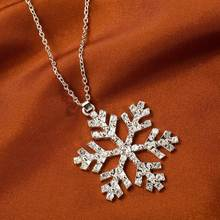 Luxury Shiny Rhinestone Snowflake New Year & Christmas Gift